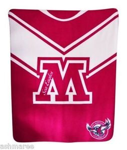 NRL-Manly-Sea-Eagles-Polar-Fleece-Lounge-Bed-Throw-Rug-Picnic-Rug
