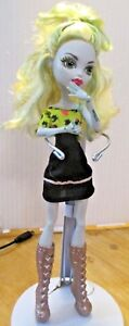 Monster-high-doll-Lagoona-Long-Blonde-hair-Black-Original-Dress-and-Boots