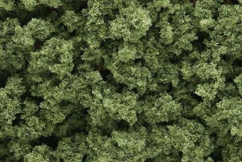 Light Green Bushes (Bag) - OO HO busches Woodland Scenics FC145