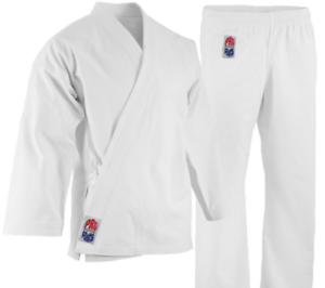ProForce 14 oz. Diamond Karate Uniform (Elastic Drawstring) - 55 45 Blend - W