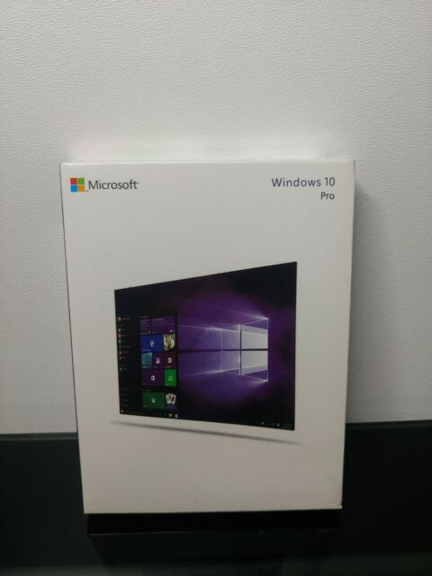 Microsoft Windows 10 Pro Full English 32/64 Bit USB MS WIN