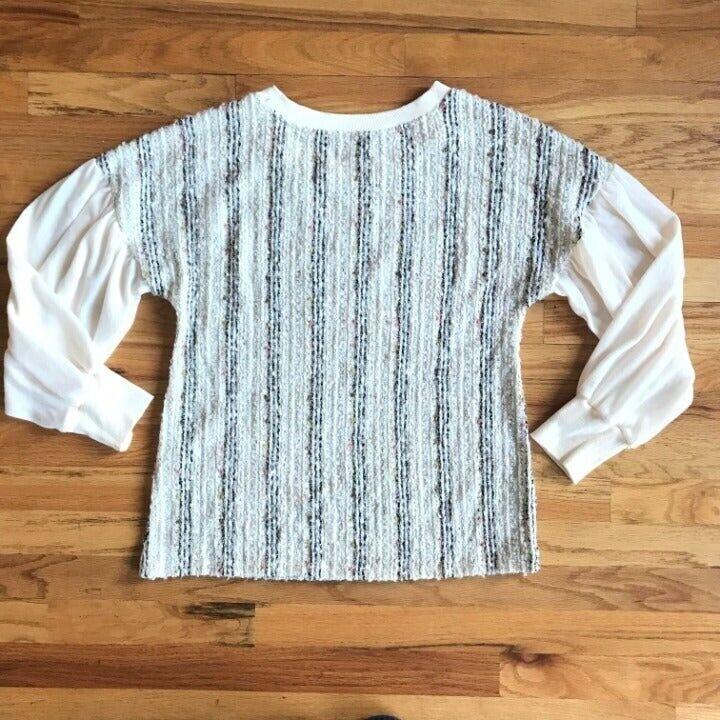 ANTHROPOLOGIE Deletta Textured Knit M - image 8