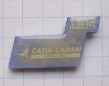 IBM / CATIA-CADEM SOLUTIONS ..........................Computer Pin (129e)