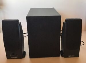 Details about Altec Lansing GS8 Multimedia Computer Speaker System w/  Powered Subwoofer