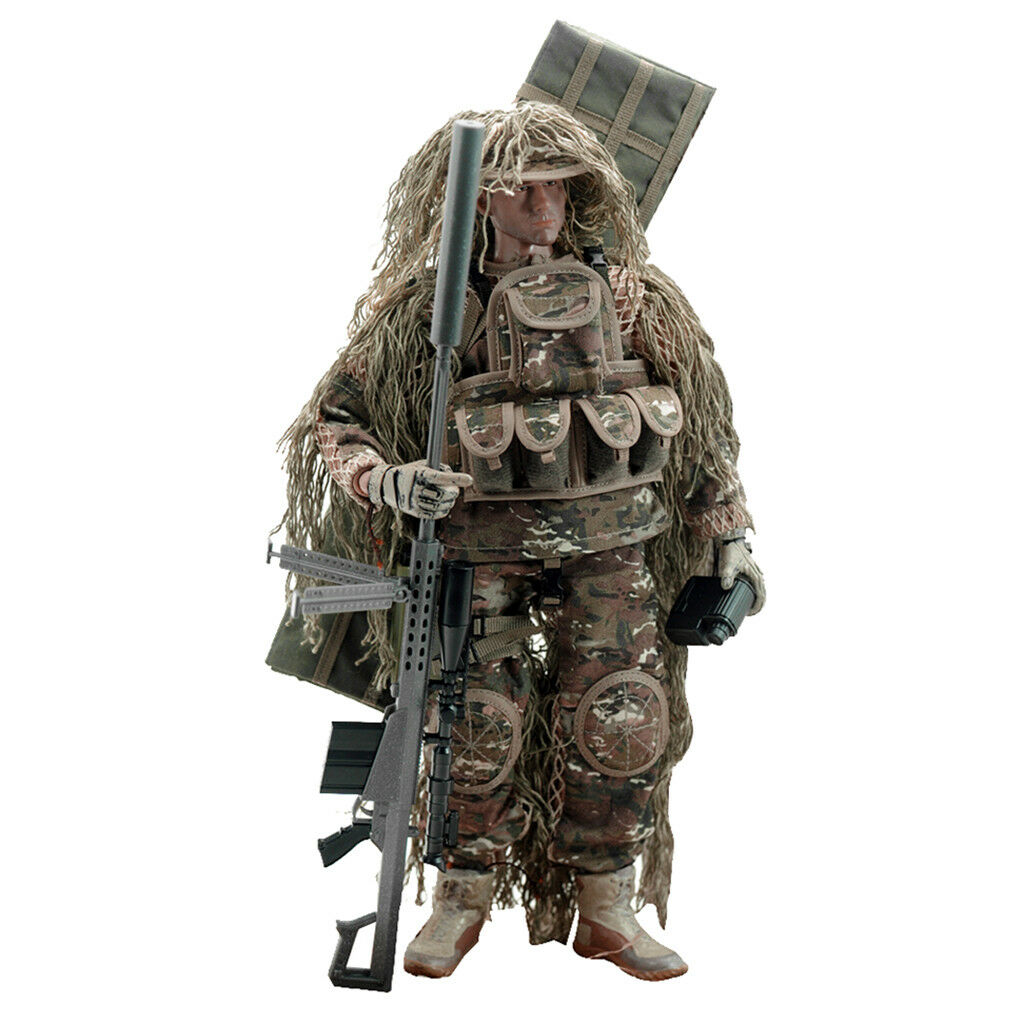 1 6 US Army Soldier All-terrain Sniper Action Figure 12 inch