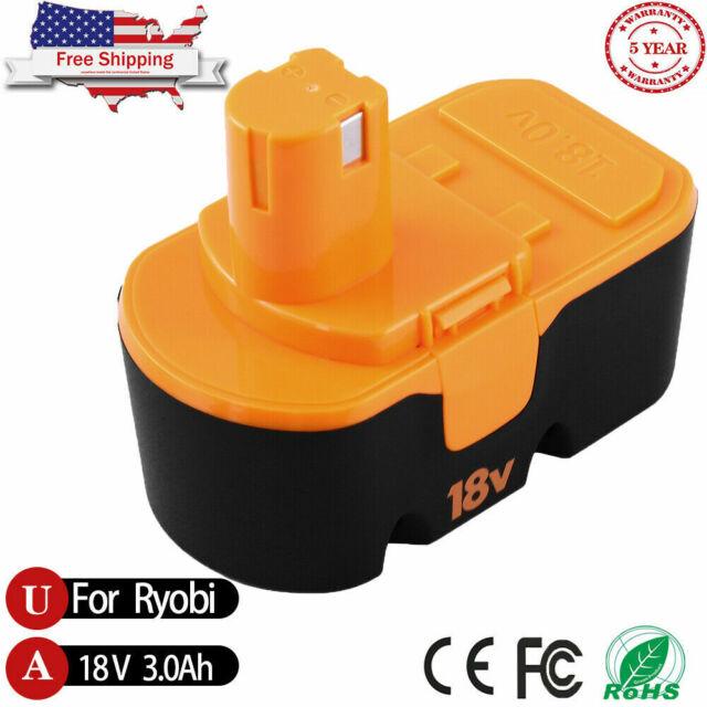 18V 3.0Ah For Ryobi One+ 18Volt One Plus P100 P101 P105 ABP1801 NI-MH Battery US