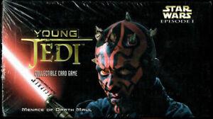 STAR WARS YOUNG JEDI MENACE OF DARTH MAUL CARD GAME STARTER BOX EPISODE 1
