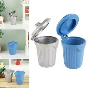 Miniature-Food-Play-Scene-Model-Dollhouse-Accessories-Can-Trash-Mini-W5U6