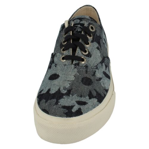 SALE Mens Sperry Top sider navy flaral lace shoes CLOUD  CVO JACQUARD