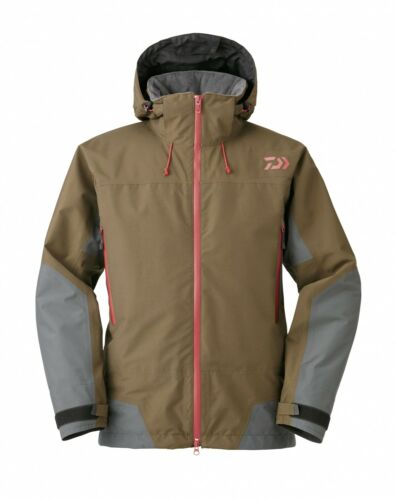 L Thermojacke Regenjacke Daiwa Winter Jacke Goretex GT-DW-1506J Brown Gr