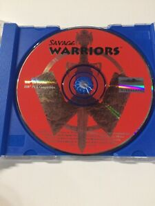 Savage Warriors PC Game DISC ONLY Good Condition!