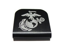 USMC EGA Marine Corps Black Hat Clip for Tactical Patch Caps by Morale Tags