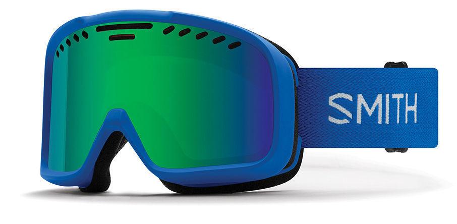 MASCHERA DA SCI SNOWBOARD SMITH PROJECT IMPERIAL blueE S3 GREEN SOL X MIRROR SKI