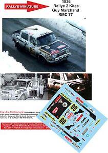DECALS-1-18-REF-1036-SIMCA-RALLYE-2-MARCHAND-RALLYE-MONTE-CARLO-1977-RALLY-WRC