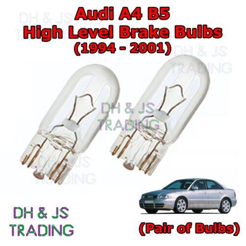 Audi A4 B5 High Level Brake Light Bulbs High Rear Brake Lights Pair 94-01