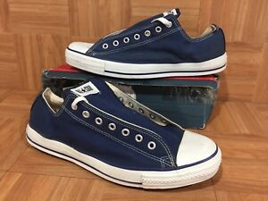 30cb302c6616 VNTG🇺🇸 Converse Chuck Taylor All Star Original Low Ox Navy Made In ...