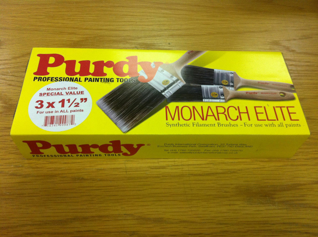 Purdy Monarch Elite Synthetische Borsten Pinsel Set 7.6x3.8cm