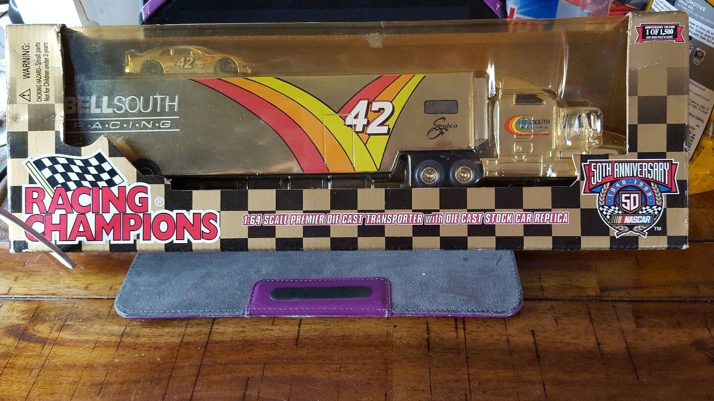 Racing Champions Diecast Escala 1 64 [] premier Transporter Bell South Semi