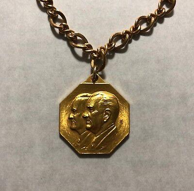 Vintage President Lyndon B Johnson Inaugural Communittee Medal