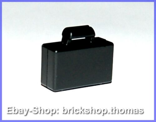 LEGO valise noir 4449-Minifig utensil Briefcase Black-Neuf//New