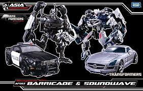 Transformers-DOTM-APS-03-Human-Alliance-Barricade-Frenzy-amp-Soundwave-Takara-MISB