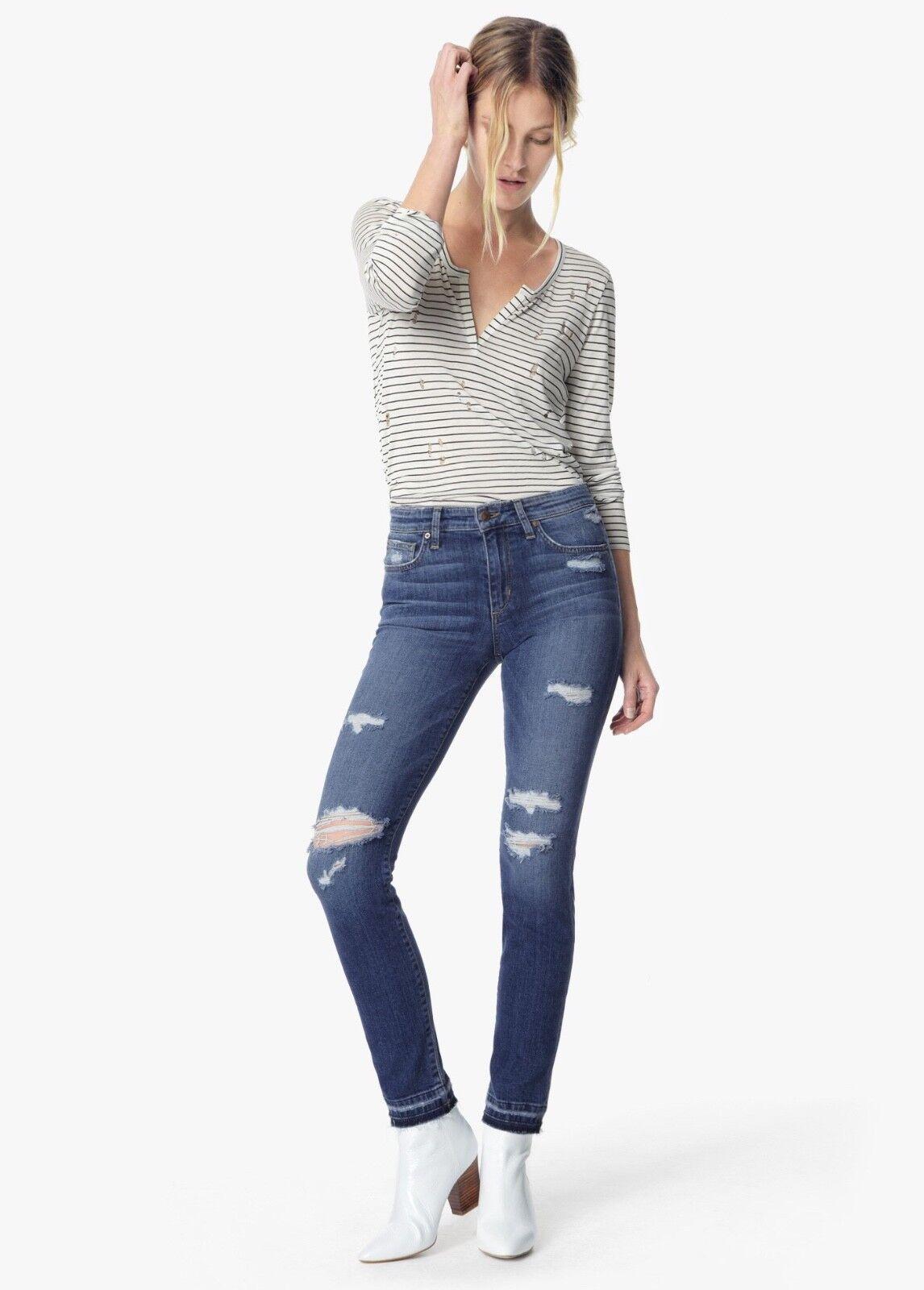Joe's Jeans Donna Sigaretta Dritto Caviglia in Becka Taglie 29 8 Slim Skinny