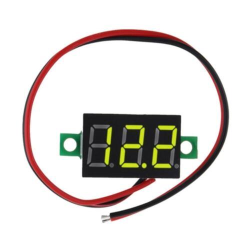 Spannungsanzeige 2.4 ~ 40V DC Spannung Voltmeter Digital Voltmeter