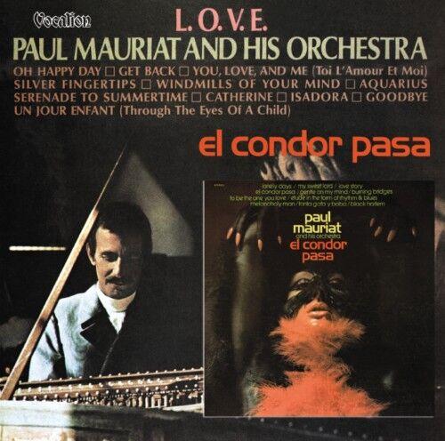 Paul Mauriat Orchestra El Condor Pasa & LOVE CD