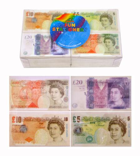 4 Novelty Fun Money Eraser Rubber School Children ú 5 10 20 50 Party Bag Filler