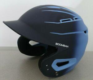 Boombah Sleek Fade Batting Helmet Navy Blue Youth Junior Jr Size