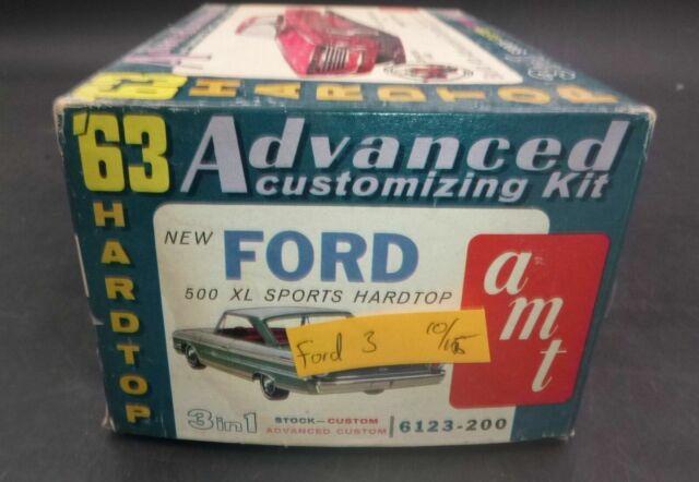 AMT 1969 Pontiac Firebird 400 Factory Model Kit 6123