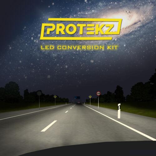 LED Headlight Kit Protekz Bulb H11 6000K Low Beam for 2005-2013 Buick LACROSSE