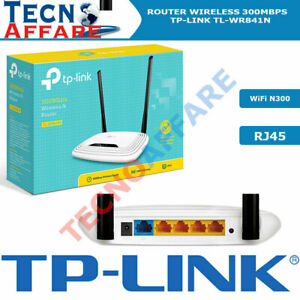 Router Wireless 300Mbps Access Point 4 Porte LAN 100Mbps  TP-LINK TL-WR841N