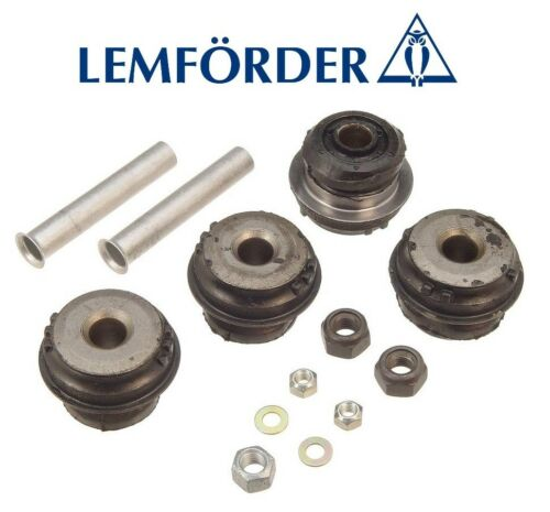 For Mercedes W124 R129 W201 Control Arm Bushing Kit Front Lower Inner Lemforder
