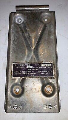 MT-1151//APX-25 1 EA NOS STEWART WARNER TRANSPONDER SET RACK MOUNT  P//N