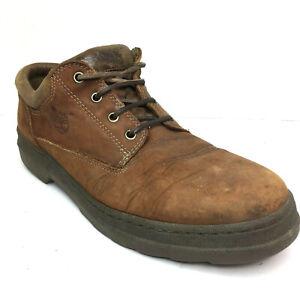 Timberland Para hombres Zapatos 12 Marrón Cuero Informal