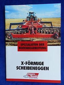 Grégoire Besson-x-en Forme De Disques Herses-prospectus Brochure 10.2000 (0588-afficher Le Titre D'origine