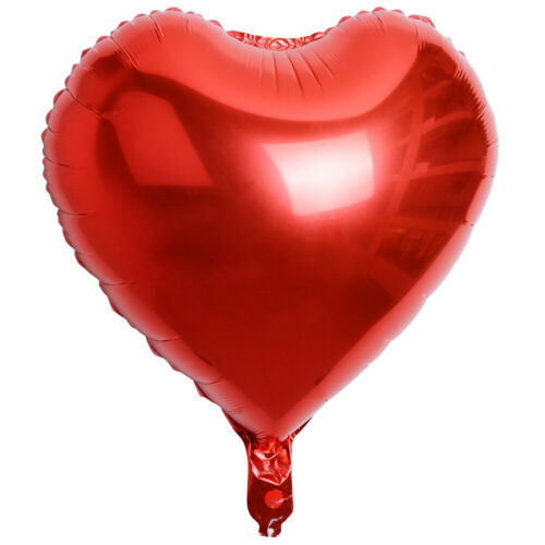 1//5//10PCSs 18Inch Love Heart Foil Helium Balloons Wedding Party Birthday Decor