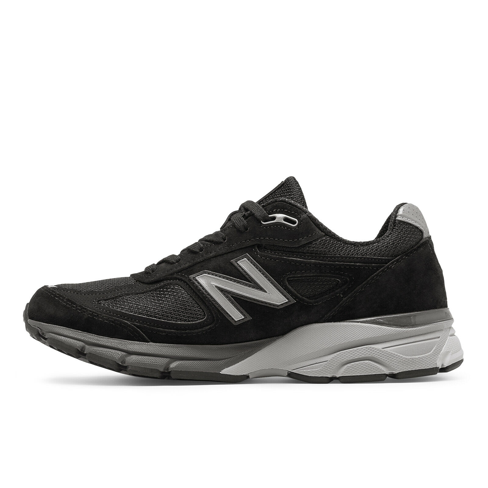 New Balance NB 990v4 Mens Running Sneakers shoes Black with Silver M990-V4