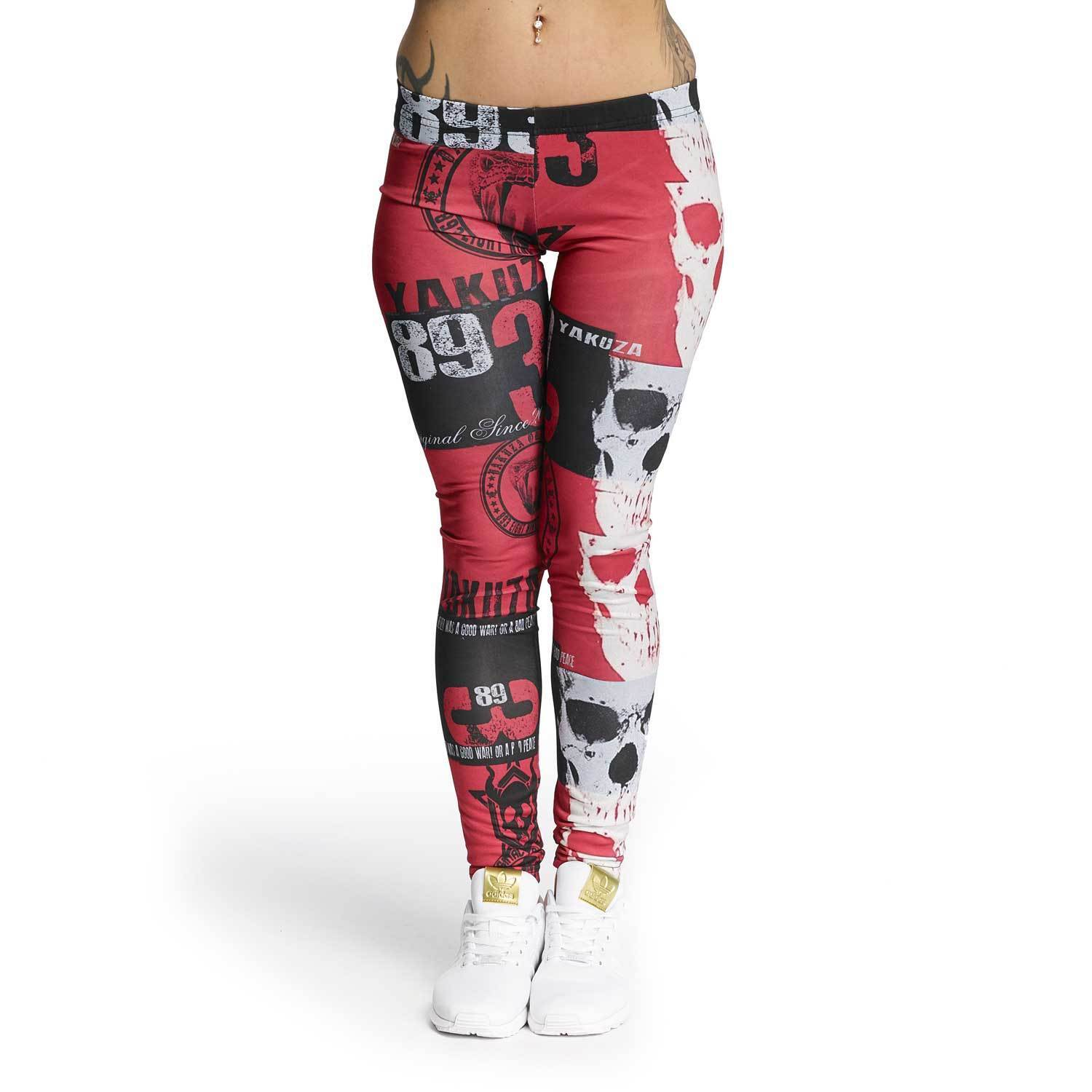 YAKUZA - Leggings LEB 11120  Reel  multicolord (bunt)
