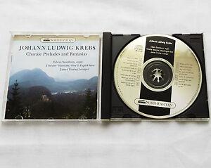 KREBS-SWANBORN-VALENTINE-TINSLEY-Chorale-preludes-amp-fantasias-USA-CD-NR-211-1986