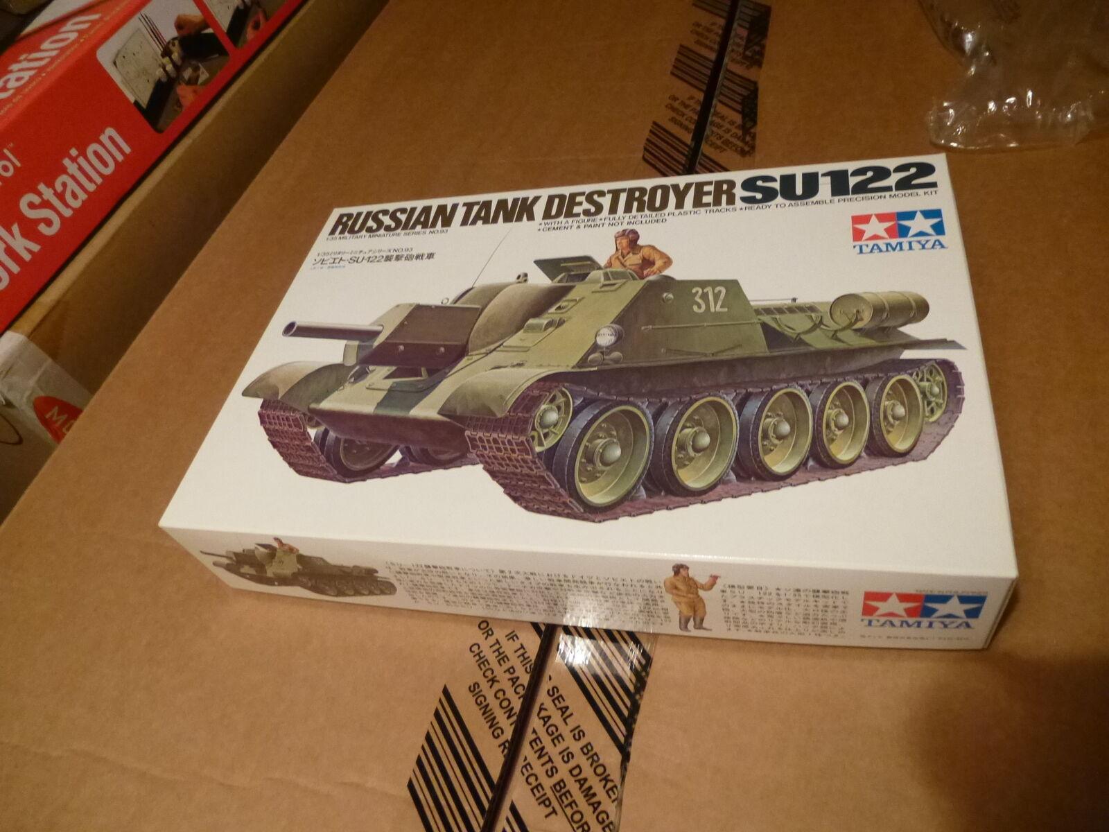 Tamiya 1 35 Ryska Tank -förstörare SU122
