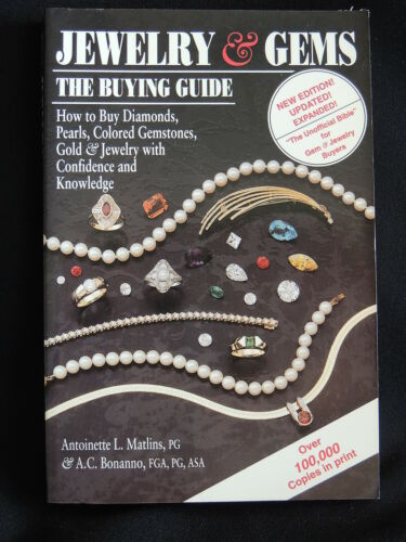 1 of 1 - JEWELLERY & GEMS - THE BUYING GUIDE-A.MATLINS & A.BONANNO-SC/1993