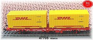 Märklin 47705 Wagon Transport De Conteneurs Lgns 570   Märklin 47705 Wagon Transport De Conteneurs Lgns 570
