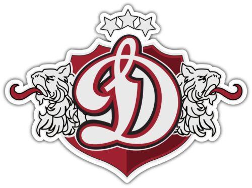 "Dinamo Riga KHL Hockey Car Bumper Window Locker Sticker Decal 5/""X4/"""