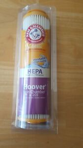 Arm /& Hammer 201 Vacuum Filter Odor Eliminating HEPA Hoover Twin Chamber