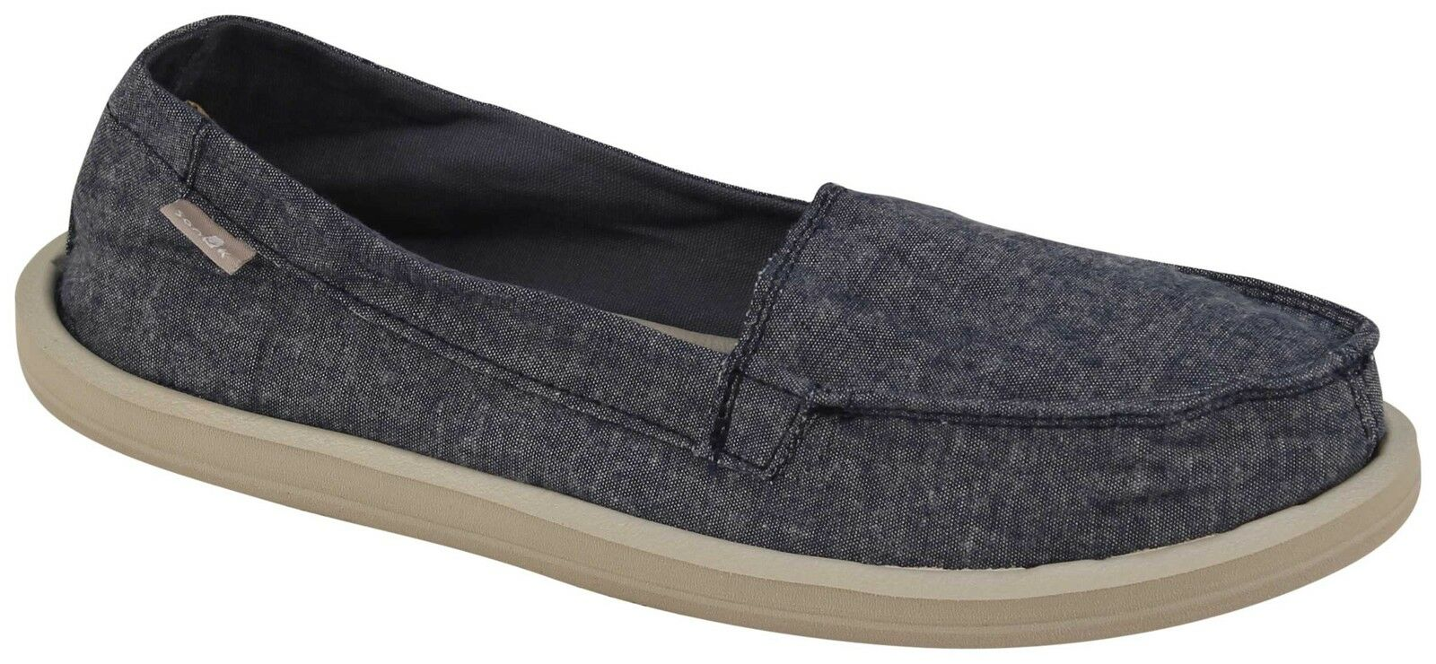 Sanuk Shorty TX Sidewalk Surfer - Slate Blue Chambray - New