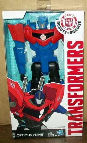 """TRANSFORMERS ROBOTS IN DISGUISE OPTIMUS PRIME 12/"""" ships bubble mailer #sw-1288"""
