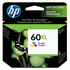 BRAND NEW GENUINE HP 60XL Color INK CC644WN Authentic C4650 C4680 C4740 C4750