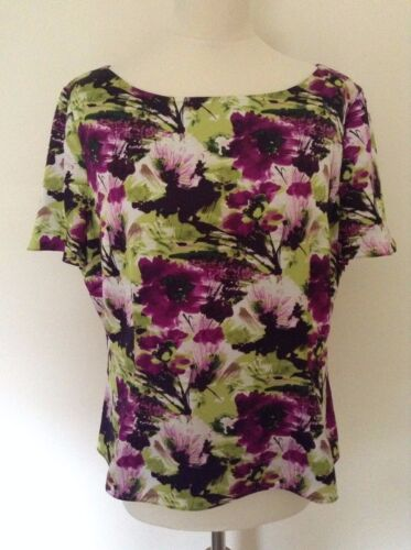 Size 20 Gorgeous Ladies/' Lined Top with floral print NEW without tag